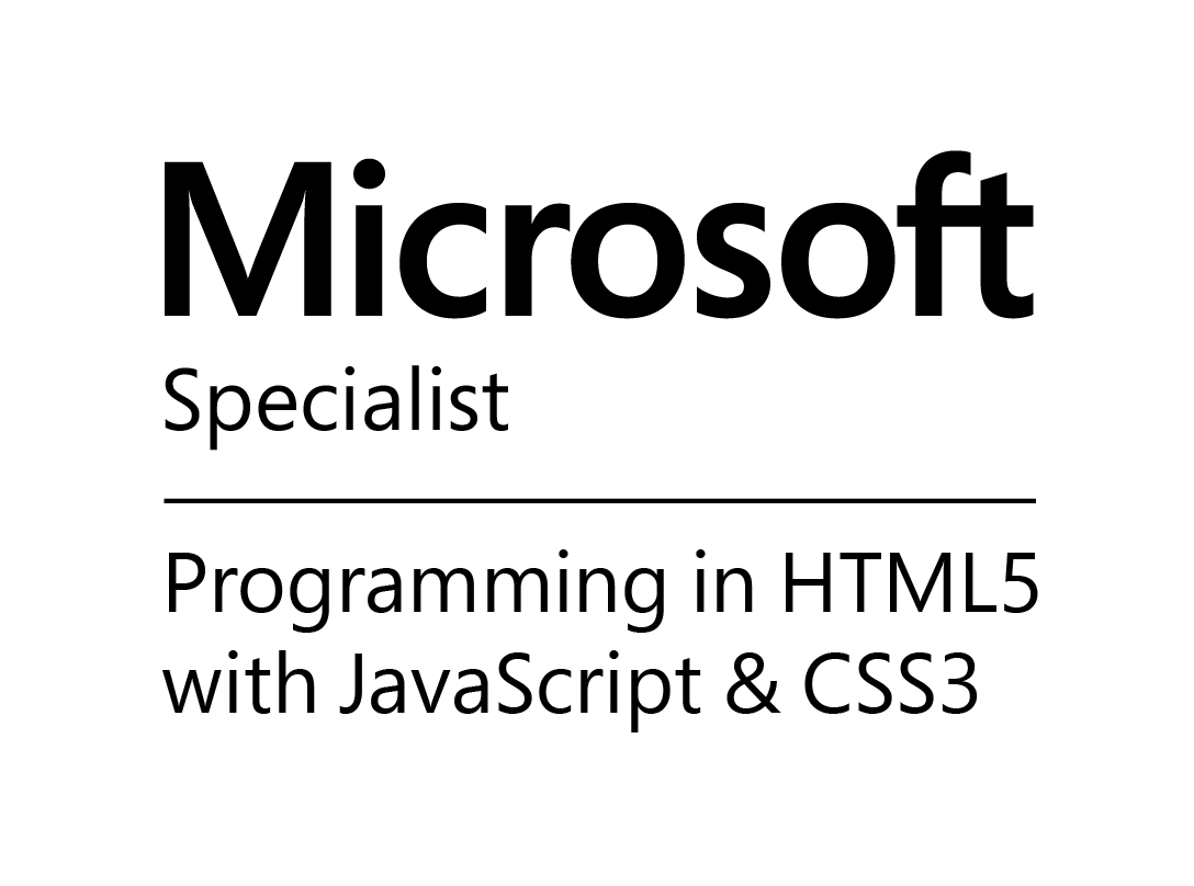 Specialist programaming in HTML5 with JavaScript & CSS3